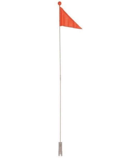 Kent 68112 2 Piece Safety Flag Orange 5 H Childrens Bike Kent Orange