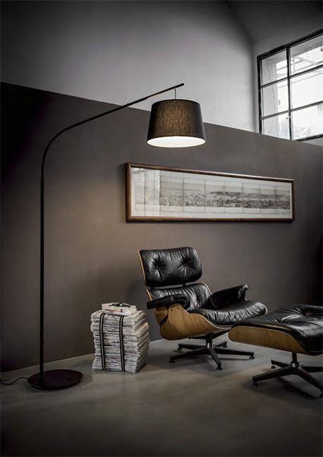 Daddy by Ideal Lux - nowoczesna lampa podłogowa w różnych kolorach