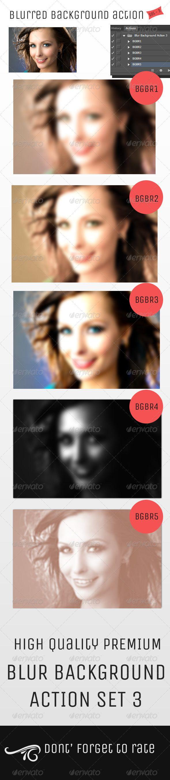 Blur Background Action Set V3