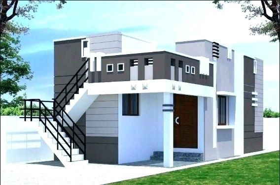 House Front Design Indian Style Single Floor Portico Design Small House Front Design House Front Design
