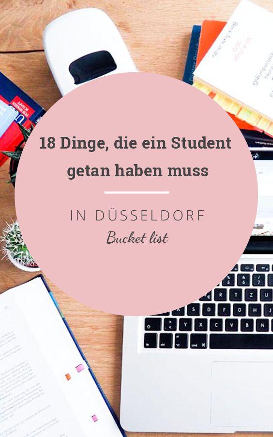 Tipps für Studenten in Düsseldorf: Dinge die Studenten getan haben müssen
