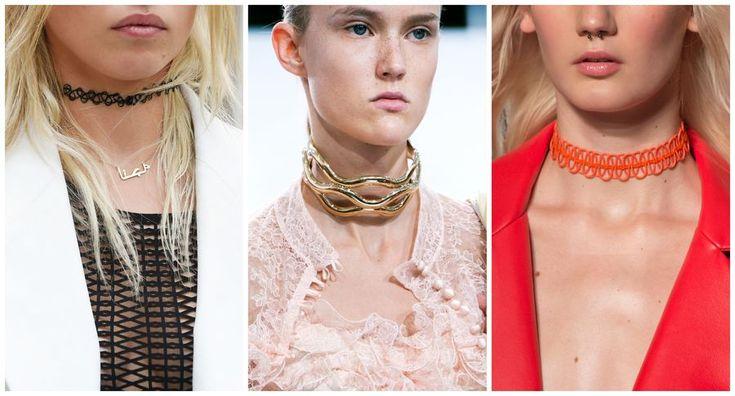 Modna biżuteria: , Masha Ma, JW Anderson, Burani, fot. Imaxtree, kolaż ELLE.pl