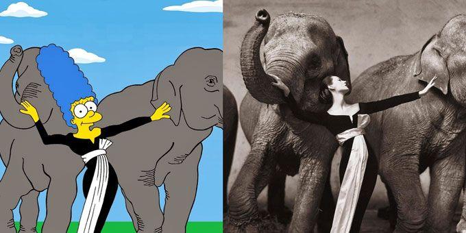 Marge Simpson è una moglie paziente, una madre devota, un'eroina della quotidianità domestica ed icona di Stile per Alexsandro Palombo.http://www.sfilate.it/212191/marge-simpson-per-alexsandro-palombo-e-unicona-di-stile