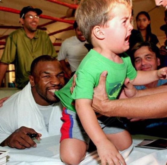 """""""i wanna eat your children...""""  - Mike Tyson"""