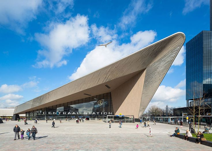 Some promotion for my hometown: Rotterdam > The new Central Station