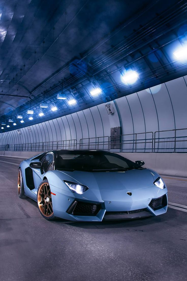 "airemoderne: "" Aventador at Miami Tunnel by Jonathan Camere """