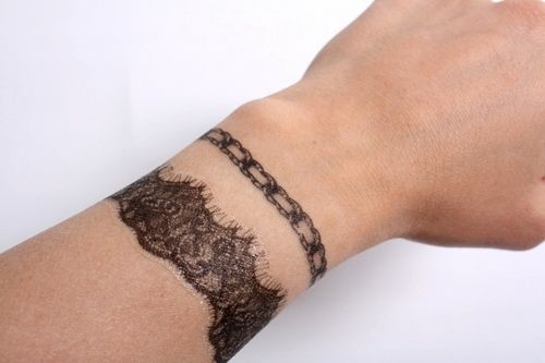 Wrist Cuff Tattoo Designs: Wrist Tattoo, Tattoo Bracelet And Tattoos And Body Art On