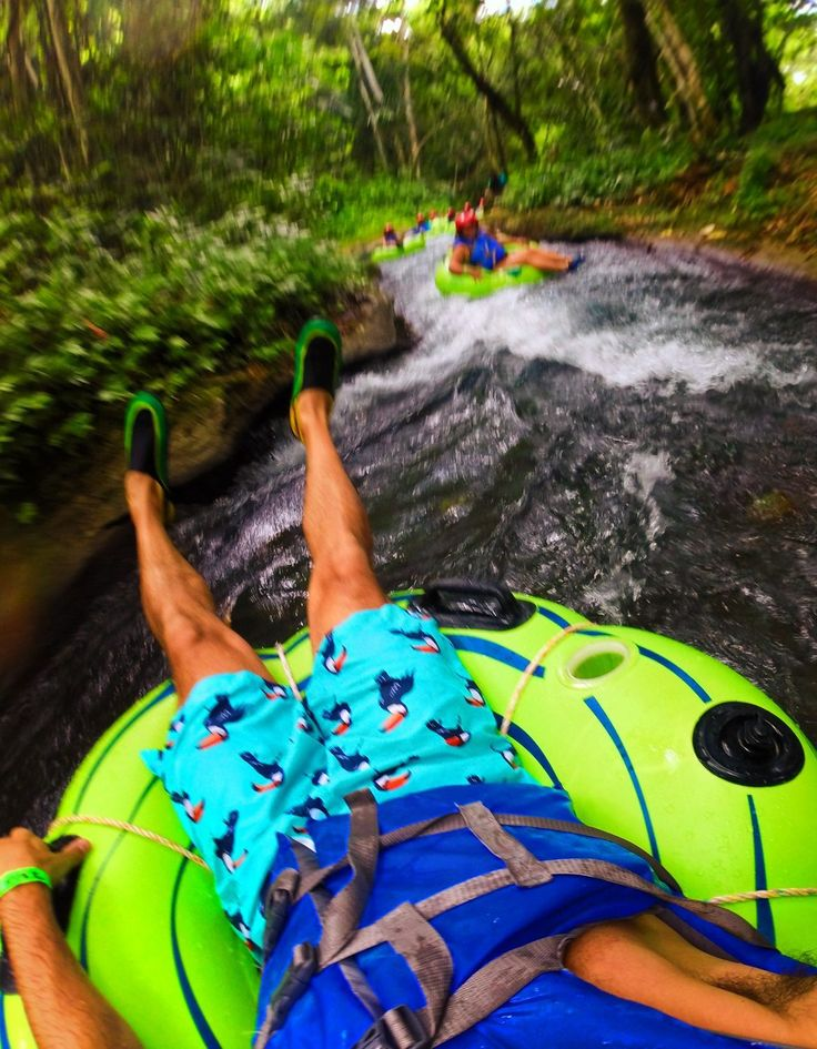 Floating the White River Ocho Rios Jamaica 2traveldads.com
