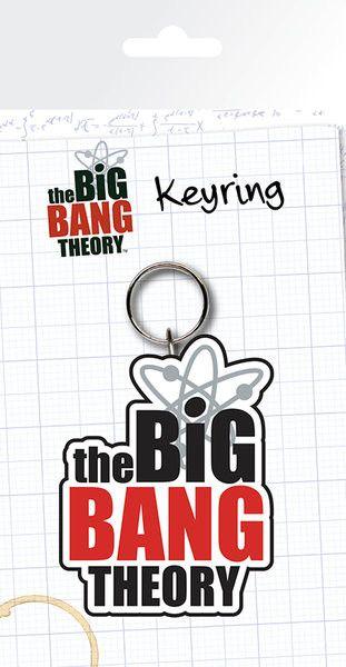 The Big Bang Theory - Logo Kľúčenky, prívesky   Prodej na Posters.sk