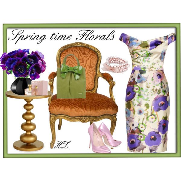 """Spring time Florals"" by cog-hz on Polyvore"