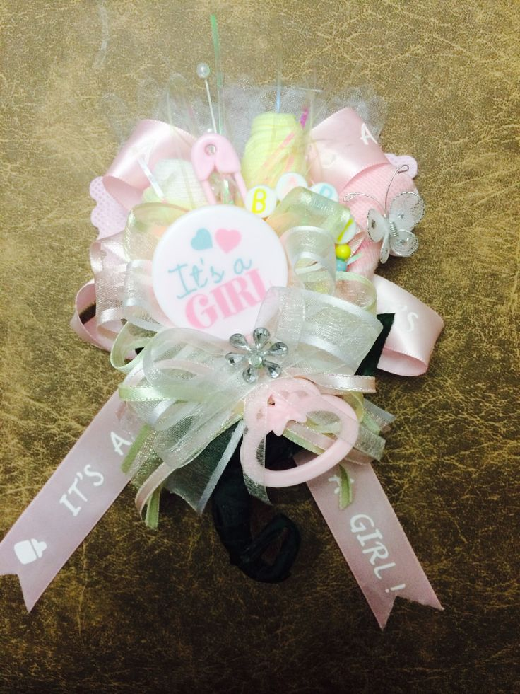 Baby Shower corsage- It's A Girl