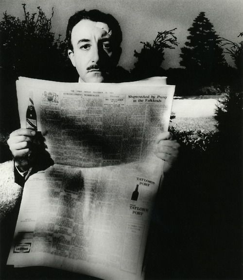liquidnight:    Bill Brandt  Peter Sellers, 1963  From The Photography of Bill Brandt