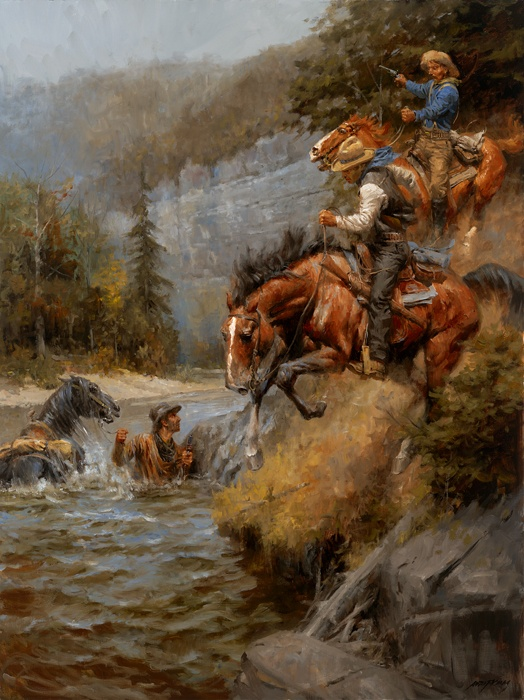 81 best Andy Thomas Paintings images on Pinterest Horses, American - new certificate of authenticity painting