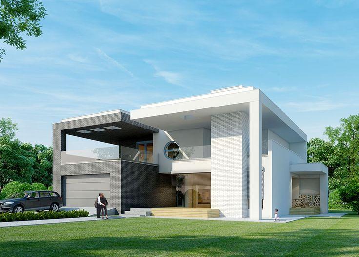 Projekt domu PLK-933 - DOM CK1-94 - gotowy projekt domu