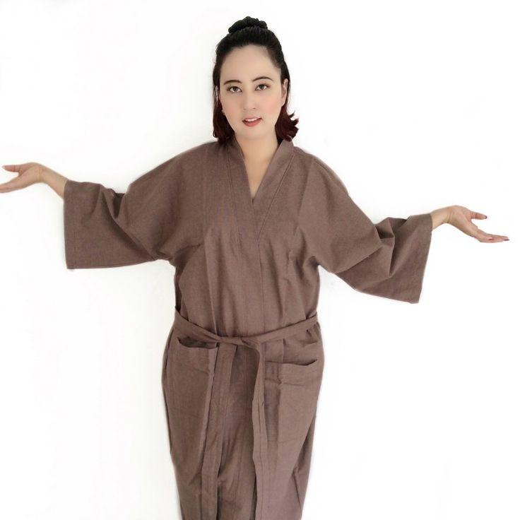 Organic 100 percent natural cotton handmade kimono style bathrobes. Get your own style before they sell out http://www.etsy.com/shop/AtSiam ::::: Accept on Paypal ::::: Shipping world wide #kimono #bathrobe #robe #home #bridesmaids #sleepingbeauty #beachwear #style #beauty #beachbody #cotton #Pajamas #interior #maternity #happynewyear #women #men #handmade #artoftheday #design #Yukata #Room #clothing #bathroom #Atsiam #homedecor #wedding #etsy #Luxuryhome #dressinggown