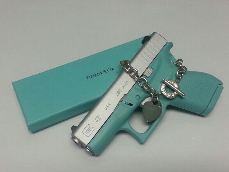 Tiffany Blue Gun Paint