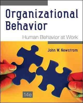 Organizational Behavior: Human Behavior at Work , 14e is a solid research-based…