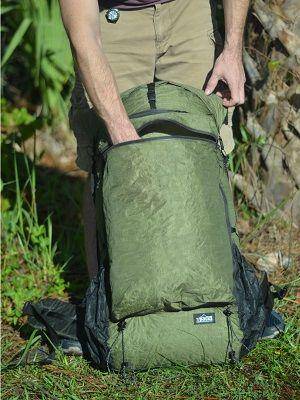 ZPacks.com Ultralight Backpacking Gear - Arc Zip Ultralight Backpack