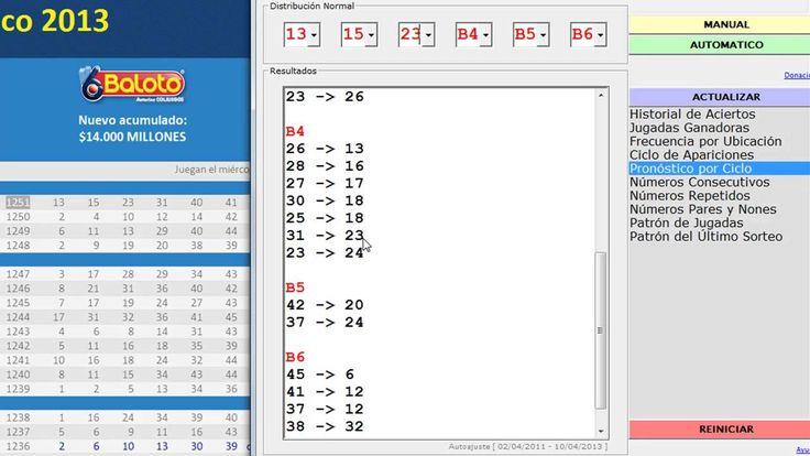 Fórmula para Ganar Lotería Baloto Sorteo 1251 (Método Práctico Paso a Paso)