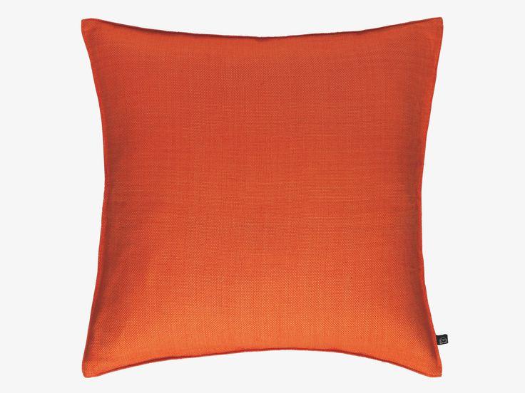ARMURE ORANGES Cotton Orange dual toned cotton cushion 50 x 50cm - HabitatUK