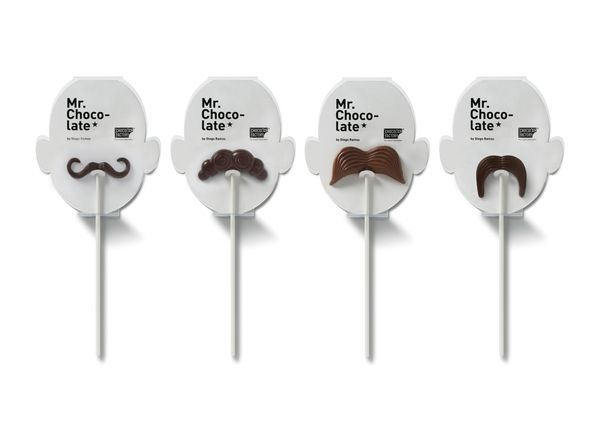 Chocolat Factory by Jorge Alavedra, via BehanceChocolates Moustaches, Chocolat Factories, Chocolates Factories, Homemade Chocolates, Chocolate Factory 04, Chocolates Mustaches, Hipster Chocolates, Chocolates Pop