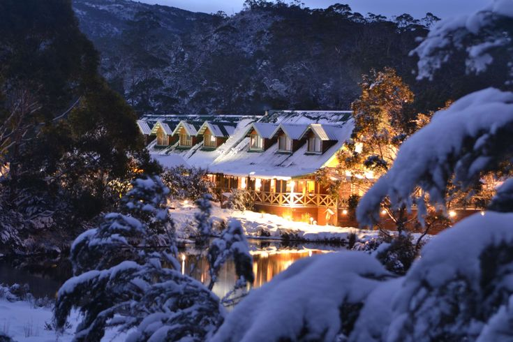 #australia #cradle mountain lodge #lodge #snow #tasmania #winter