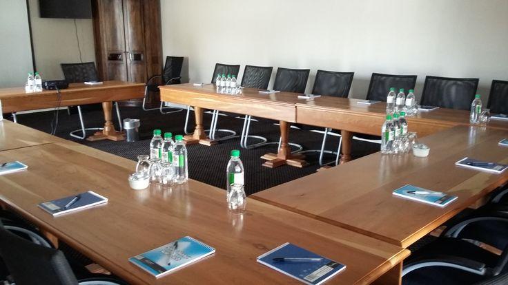 Executive Boardroom seating u-shaped 20 plus @ Villa Maria Guest Lodge