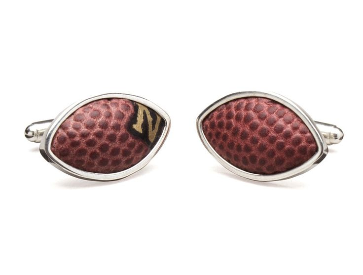 San Diego Chargers Game Used Football Cuff Links