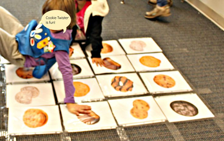 As one of the activities at this year's Association 51 Cookie Rally, Daisies learned about the eight different types of Girl Scout Cookies by playing our own version of Twister! Before the Daisies ...