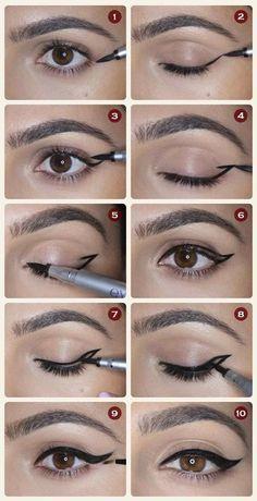21 Einfache Eyeliner-Hacks, die jeder ausprobieren sollte