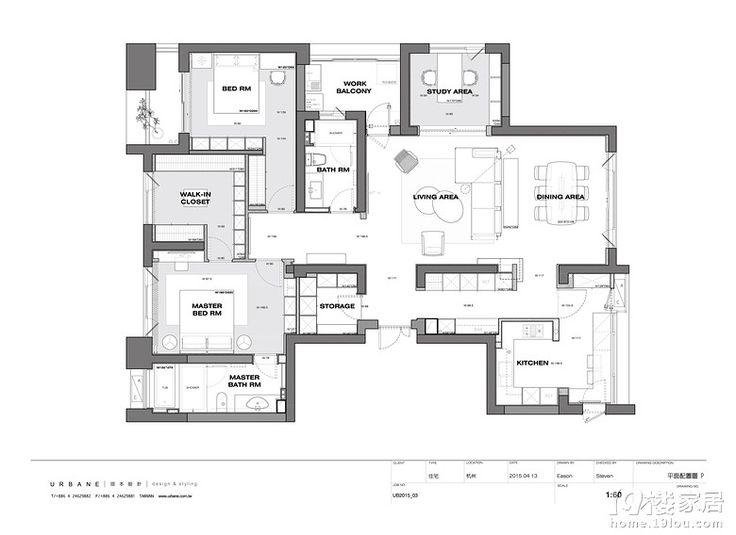 珥本Urbane Design-现代简约-6位数设计费数换来的3D图(27楼)