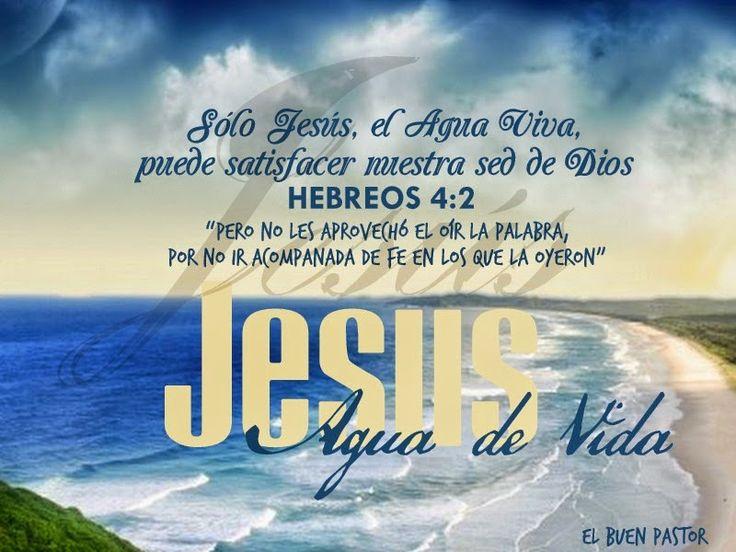 Juan 4:14 mas el que bebiere del agua que yo le daré, no tendrá sed jamás; sino que el agua que yo le daré será en él una fuente de agua que salte para vida eterna.♔