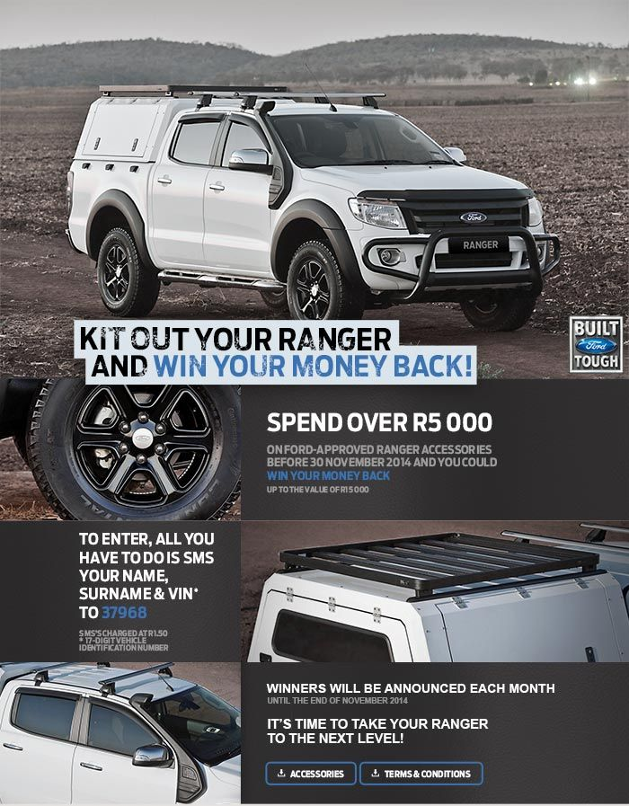 Ford South Africa Ford Ranger Accessories Ford Ranger Ranger