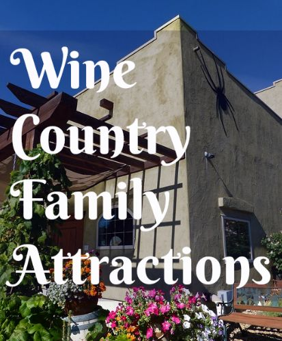Napa Valley and Sonoma can totally be a fun family vacation with kids in tow! You just have to know where to go :-)
