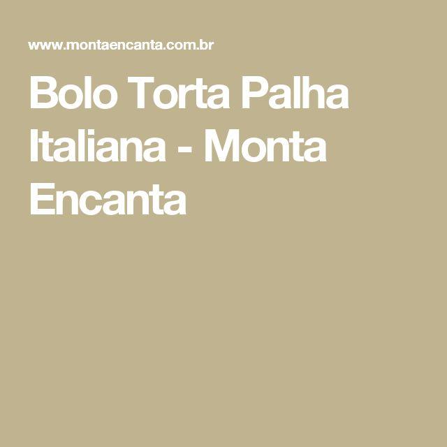 Bolo Torta Palha Italiana - Monta Encanta