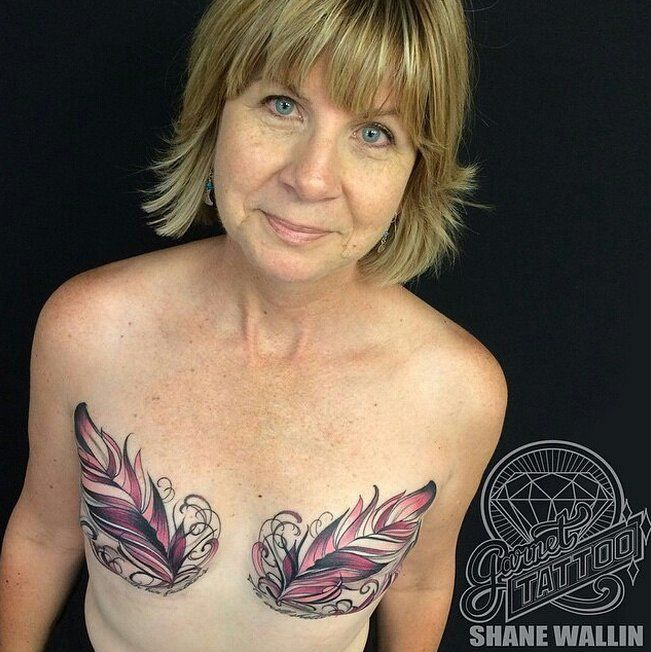 15 Mastectomy Tattoos That Celebrate Scars in a Beautiful Way