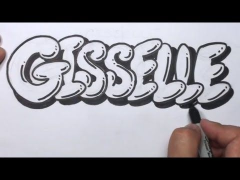 Write my name graffiti letters