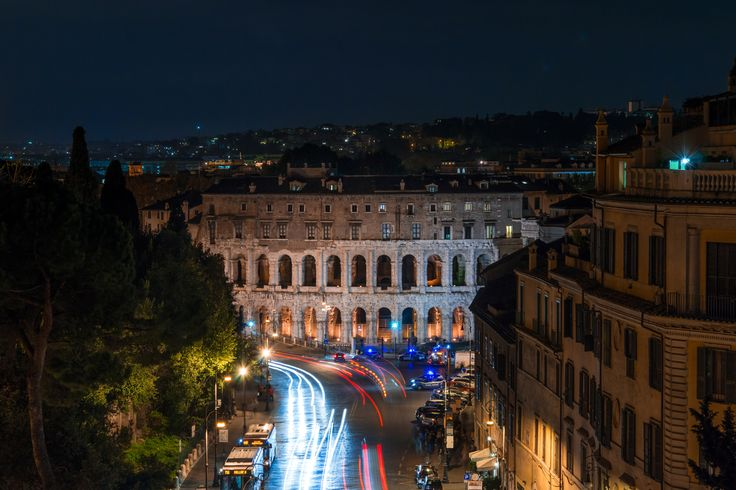 Rome theatre of Marcellus - rome