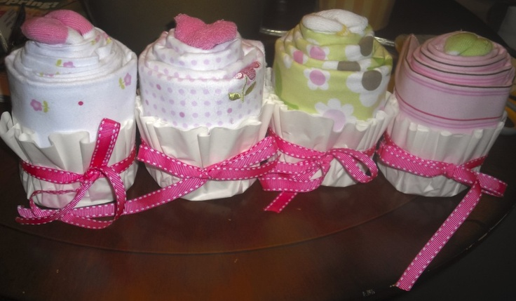 cupcake gifts with coffee filters