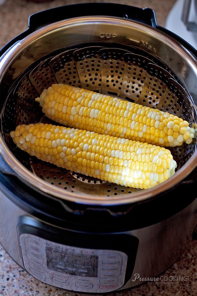 Pressure Cooker Corn on the Cob - from @barbarabakes