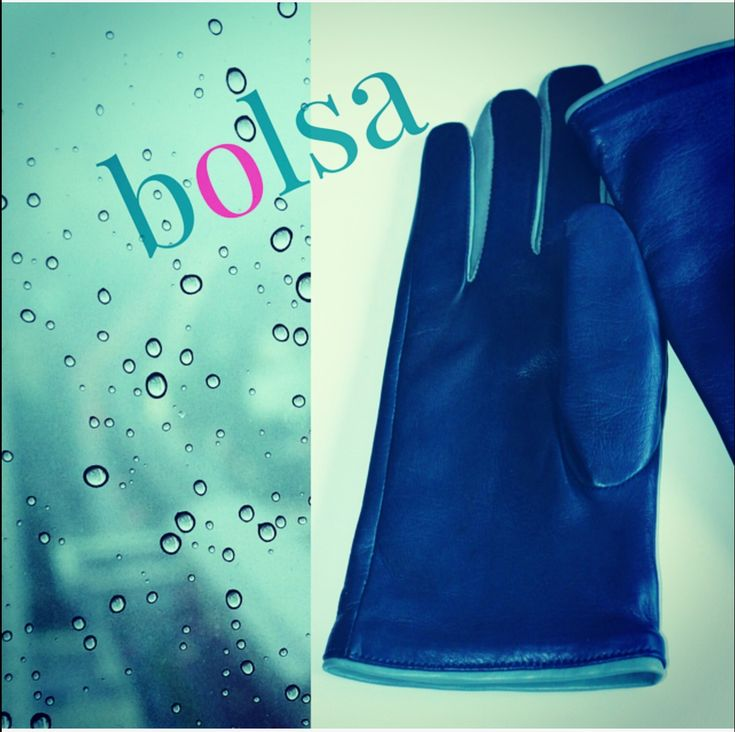 bolsa | Leather Gloves #fashion #style