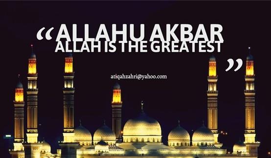 ALLAH MAHA BESAR :)