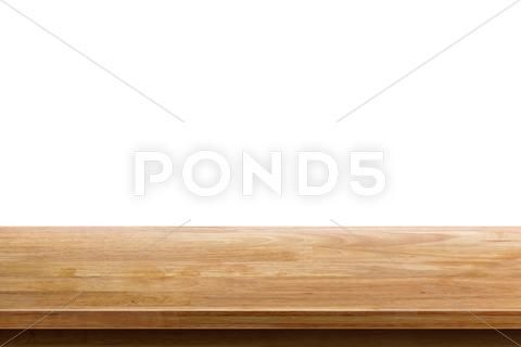 Empty Wooden Table Top Isolated On White Background Used For Display Or Mont Stock Photos Ad Top Isolated Table Em Wooden Table Top Wooden Tables Table Top