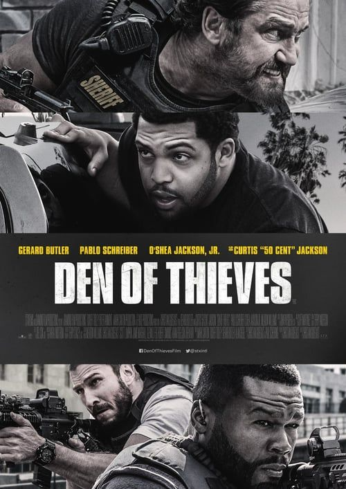 Free Download Den Of Thieves 2018 Hindi Dubbed Dvdrip Hd Movie Den