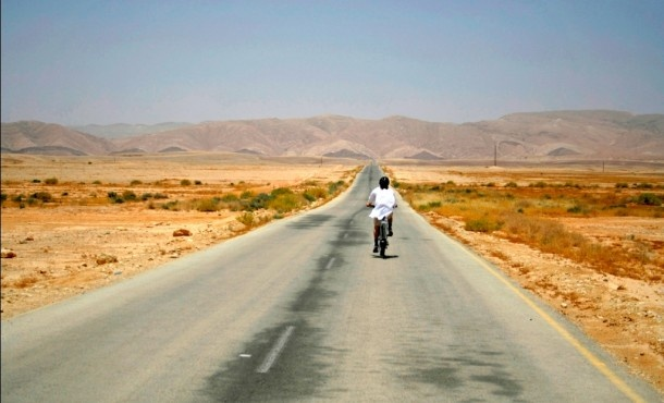 This is what it must feel like to ride your bike through Iran. So looking forward to it.