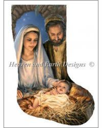 Stocking Holy Family