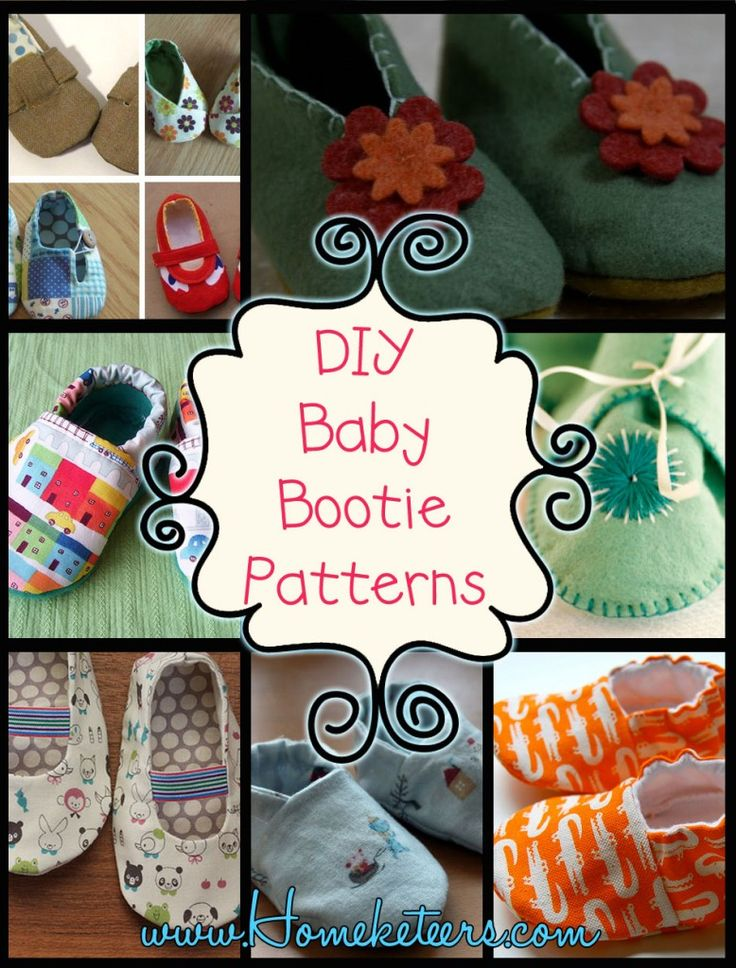 DIY Baby Bootie Patterns - FREE Patterns