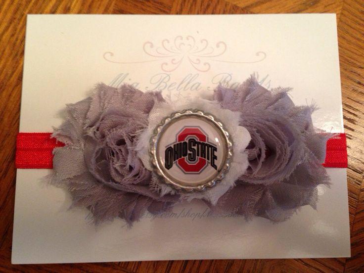 Baby+headband++Ohio+state+baby+headband++Ohio+by+MiaBellaBands,+$8.95