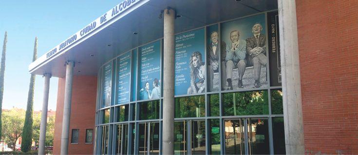 Diseño de #carteles de #gran #formato para la #cartelera del Teatro. // #Billboard #theatre #design.