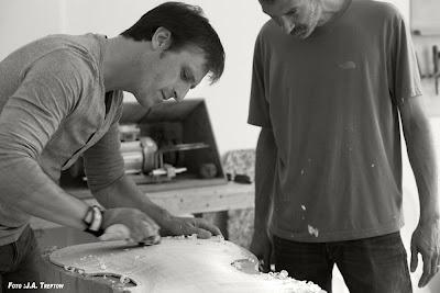 Geigenbaumeister Frank Rittwagen ist mit seiner neuen Instrumentenwerkstatt in die Metropole Berlin gegangen und schöpft aus dem Herzschlag der Millionenstadt  seine volle Kreativität als Geigenbauer